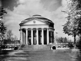 Rotunda at University of Virginia Photographic Print