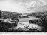 Miramichi Settlement on the Gulf of Saint Lawrence Reproduction photographique par Paul Sanby