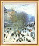 Boulevard des Capucines ポスター : クロード・モネ