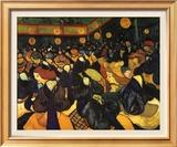 The Dance Hall at Arles, c.1888 ポスター : フィンセント・ファン・ゴッホ