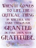 Gratitudine Stampe