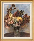 Spring Bouquet ポスター : ピエール=オーギュスト・ルノワール