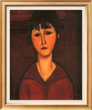 Portrait of Young Woman, c.1916 ポスター : アメディオ・モディリアーニ