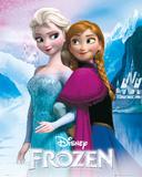 Frozen - Anna & Elsa Prints