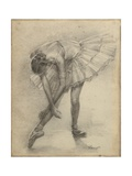 Antique Ballerina Study II Art by Ethan Harper