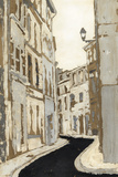 Non-Embellished Streets of Paris II Prints by Megan Meagher