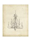 Classical Chandelier IV Poster von Ethan Harper