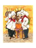 Soup Chefs Kunstdrucke von Jerianne Van Dijk