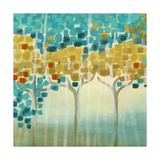 Forest Mosaic I Poster von Erica J. Vess
