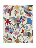 Otomi Embroidery II Art by Chariklia Zarris