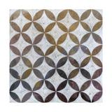 Royal Pattern II Metal Print by Megan Meagher