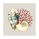 By the Seashore I Metal Print by Megan Meagher