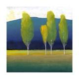 Glowing Trees I Metal Print by Tim O'toole
