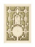 Garden Maze I Kunstdruck von  Blondel