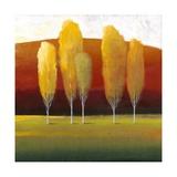 Glowing Trees II Metal Print by Tim O'toole