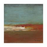 Sea Horizon III Metal Print by W. Green-Aldridge