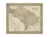 Plan of Washington, D.C. Juliste tekijänä  Mitchell