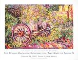 Rush Garden Art by Thomas Macaione