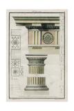 The Doric Order Prints by  Richardson