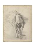 Antique Ballerina Study I Reproduction giclée Premium par Ethan Harper