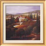 Villa in Tuscany ポスター : マックス・ヘイスレット