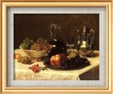 Still Life, Corner of Table Poster di Victoria Dubourg
