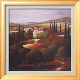 Villa in Tuscany Plakater af Max Hayslette