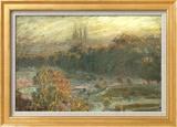 The Tuileries Poster di Claude Monet