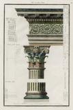 The Corinthian Order Poster by  Richardson