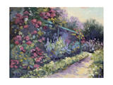 Monet's Garden VI Prints by Mary Jean Weber
