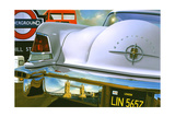 '56 Lincoln Continental Poster av Graham Reynolds