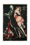 Dance of Death, Skeleton Giclee Print
