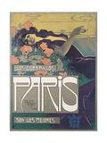 Cigarrillos Paris Son Los Mejores (Paris Cigarillos are the Best!) Giclée-Druck von Aleardo Villa