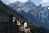 Liechtenstein - Vaduz - (Schloss) Vaduz Castle Photographic Print by Richard Baker