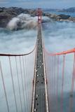 Road Deck of the Golden Gate Bridge Impressão fotográfica por Roger Ressmeyer