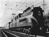 Pennsylvania Electric Locomotive Reproduction photographique