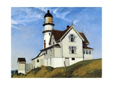 Captain Upton's House Giclée-tryk af Edward Hopper