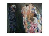 Death and Life (Tod Und Leben) Giclée-Druck von Gustav Klimt
