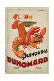 Quinquina Du Homard Aperitif Advertisement Giclée-Druck