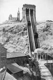 Funicular Railway to Notre Dame De La Garde, Marseille Photographic Print by Chris Hellier