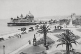 Pier and Promenade Des Anglais, Nice Photographic Print by Chris Hellier