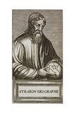 Portrait of Strabo Giclee Print by Andre Thevet