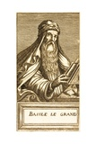 Portrait of Saint Basil Giclee Print by Andre Thevet