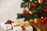 Gifts under a Christmas Tree Stampa fotografica di Klaus Tiedge