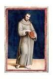 Saint Francis of Assisi Reproduction procédé giclée par  Raphael