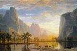 Vallée du Yosemite Reproduction procédé giclée par Albert Bierstadt