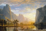 Valley of the Yosemite Giclée-tryk af Albert Bierstadt