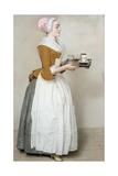 The Chocolate Girl Giclée-vedos tekijänä Jean-Etienne Liotard