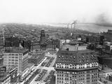 Wayne County Building in Detroit, Michigan Reproduction photographique