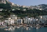Capri Harbor Impressão fotográfica por Vittoriano Rastelli